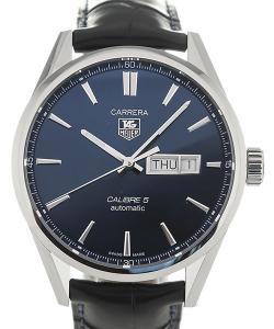 TAG Heuer Carrera Automatic Carrera 41 Automatic Blue Dial Leather