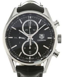 TAG Heuer Carrera Automatic Chronograph Carrera 41 Automatic Chronograph Black Dial
