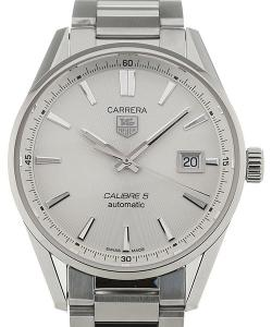 TAG Heuer Carrera Automatic Carrera 39 Automatic Silver Dial Steel