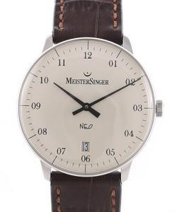 MeisterSinger Neo 2Z White Dial
