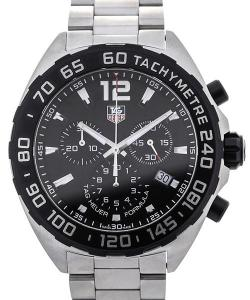 TAG Heuer Formula 1 Quartz Chronograph Stainless Steel Black Dial