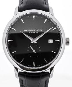 Raymond Weil Toccata 39 Small Second Black Dial