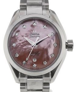Omega Seamaster Aqua Terra 34 Pink Dial