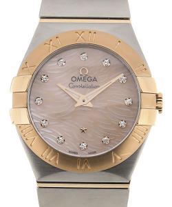 Omega Constellation 27 Quartz Red Dial