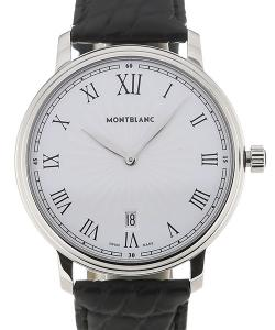 Montblanc Tradition Date 40 Leather