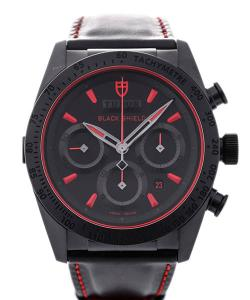 Tudor Fastrider Black Shield Automatic Chronograph 42 Red Details
