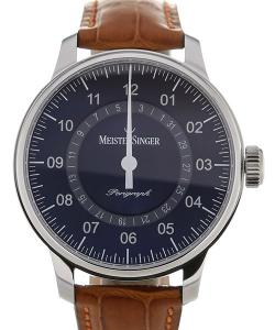 MeisterSinger Perigraph 43 Automatic Blue Dial
