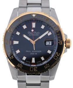 Paul Picot Paul Mariner III 42 Automatic Black Dial