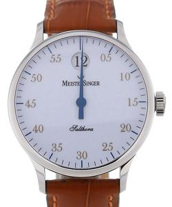MeisterSinger Salthora 40 Automatic White Dial