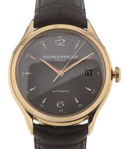Baume & Mercier Clifton 39 Grey Dial Rose Gold Date