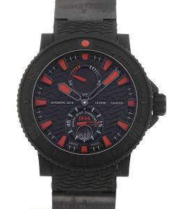 Ulysse Nardin Marine 46 Black Sea Red Index