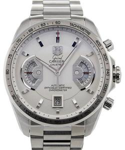 TAG Heuer Grand Carrera 43 Chronograph Silver Dial