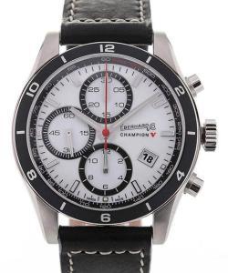 Eberhard & Co. Champion V 43 White Dial Chronograph