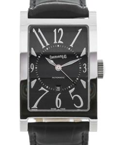 Eberhard & Co. Les Courbees Black Date