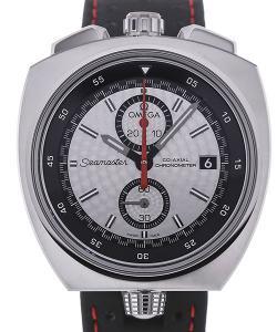 Omega Seamaster Bullhead 43 Automatic Chronograph Silver Dial