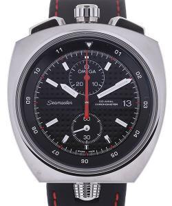 Omega Seamaster Bullhead 43 Automatic Chronograph Black Dial