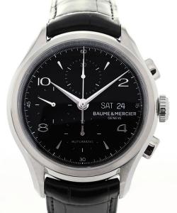Baume & Mercier Clifton Automatic Chronograph 43 Black Dial