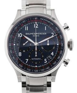 Baume & Mercier Capeland 44 Blue Dial Chronograph