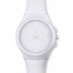Swatch Chrono Plastic Basic White SUSW400
