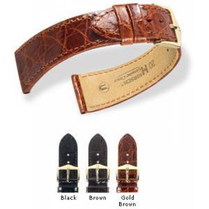 Sonstiges Hirsch Uhrenarmband Leder Genuine Croco M 1890 08/ L1892 08