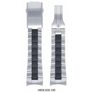 Hamilton Khaki Action Edelstahl/Carbon H605.635.100