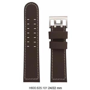 Hamilton Khaki Sunset / X-Wind Lederband braun H600.625.101