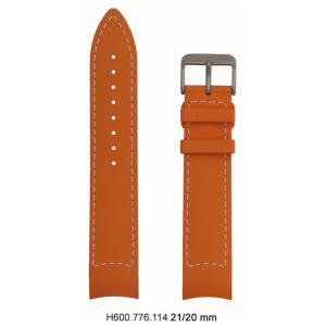 Hamilton Khaki GMT Air Race Kautschukarmband 21mm H600.776.114