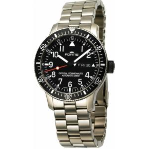 Fortis B-42 Official Cosmonauts Day/Date Titan 658.27.11 M