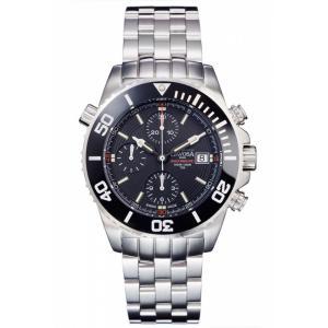 Davosa Argonautic Lumis Automatik Chronograph schwarz/rot 161.508.20