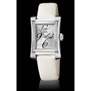 Oris Rectangular Date Diamonds 01 561 7621 4961-07 5 16 74