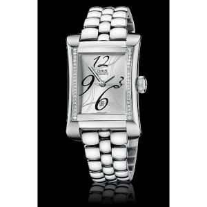 Oris Rectangular Date Diamonds 01 561 7621 4961-07 8 16 75