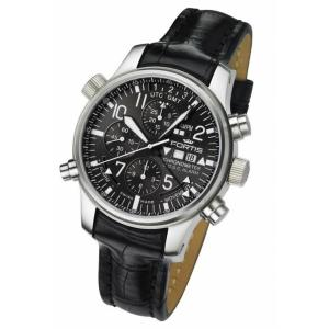 Fortis F-43 Flieger Chronograph Alarm GMT Limited Edition 703.10.81...
