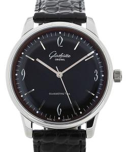 Glashütte Original Sixties 39 Automatic Black Dial