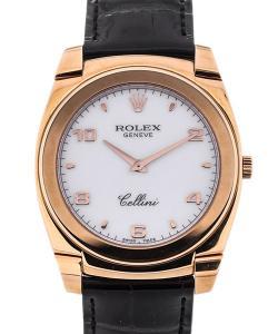 Rolex Cellini Cestello Cellini 36 Cestello Rosé Arabic