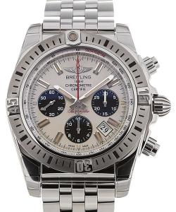 Breitling Chronomat Airborne 44 Automatic Silver Dial