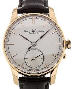 Moritz Grossmann Atum 41 Hand Wound Silver Dial