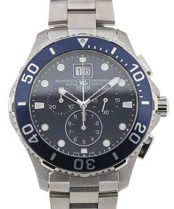 TAG Heuer Aquaracer 43 Quartz Blue Dial