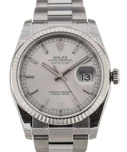 Rolex Oyster Perpetual Datejust 36 Automatic White Dial