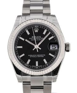Rolex Oyster Perpetual Datejust 31 Automatic White Gold