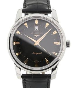 Longines Conquest Heritage 40 Leather Gent