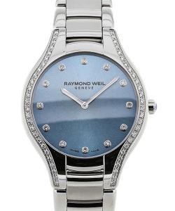 Raymond Weil Noemia 32 Blue Dial Gemstone