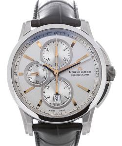 Maurice Lacroix Pontos 43 Automatic Silver Dial