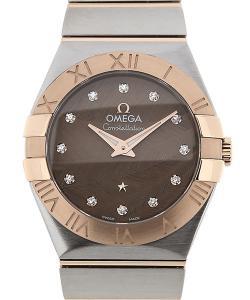 Omega Constellation 27 Quartz Brown Dial