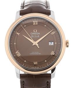 Omega De Ville Prestige 40 Co-Axial Brown Dial