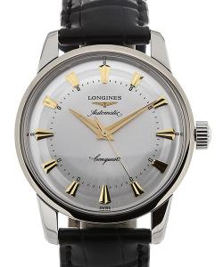 Longines Conquest 35 Automatic Leather