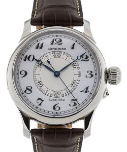 Longines Heritage 48 Automatic White Dial