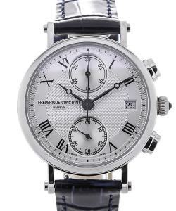 Frederique Constant Classics Chronograph 34 Guilloche Dial