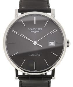 Longines Elegant 39 Automatic Black Dial