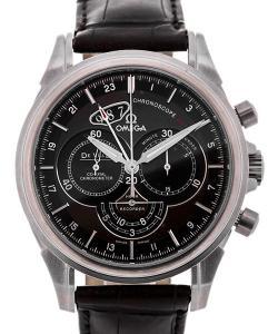 Omega De Ville Chronoscope Co-Axial GMT Chronograph 44