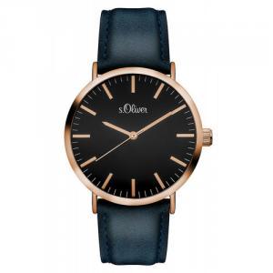 Soliver S.Oliver Unisex Armbanduhr Rosegold SO-3202-LQ